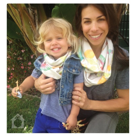 Hummingbird Infinity Scarves by Little House In The Orchard