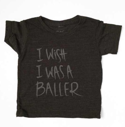 Baller tee- Tribe is Alive