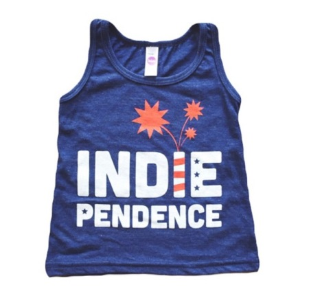 Indie-Pendence by CampLight Apparel